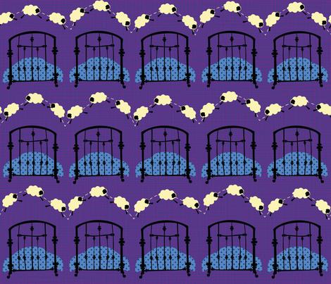 Simply Sleepy fabric by juliesfabrics on Spoonflower - custom fabric