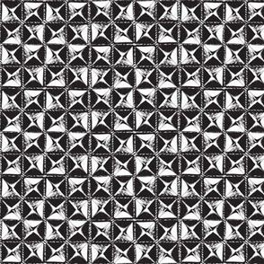 studs black and white-small size