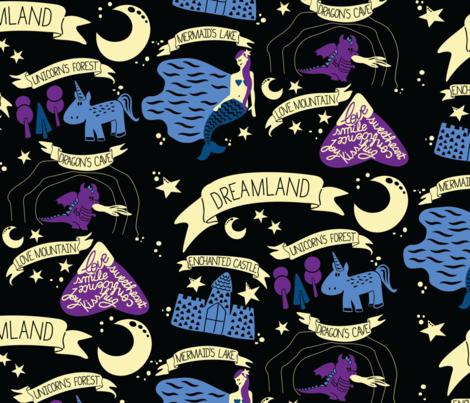 Dreamland fabric by caminavarro on Spoonflower - custom fabric