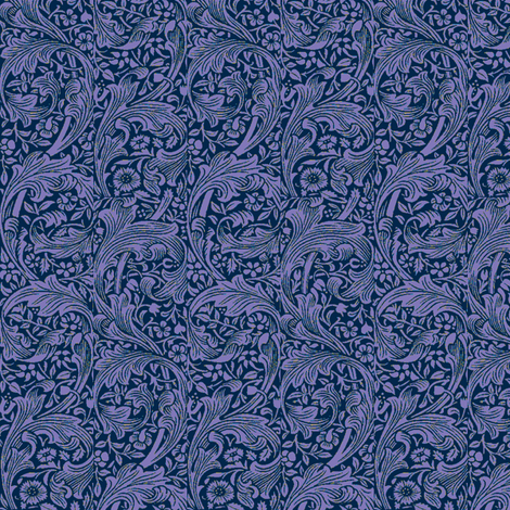 Plumes Blue fabric by amyvail on Spoonflower - custom fabric