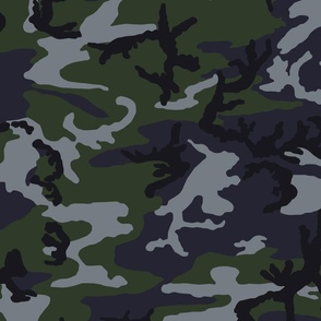 Woodland Night Stalker Camo