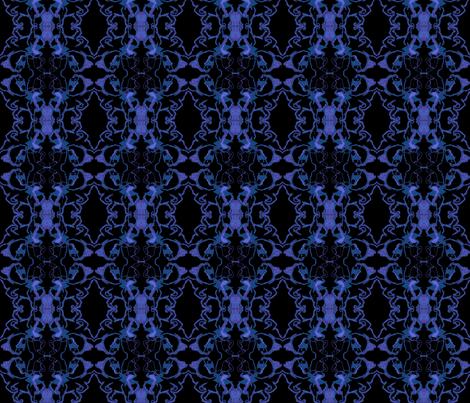 Black Knights in Satin fabric by vasonaarts on Spoonflower - custom fabric