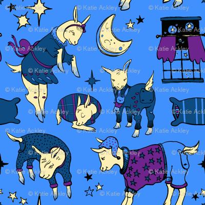Sleepy Time Goats