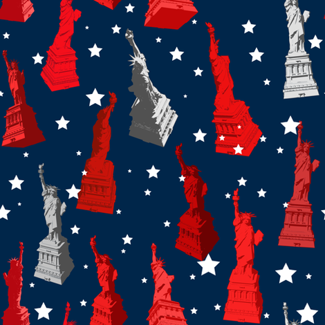 liberty fabric by mcclept on Spoonflower - custom fabric