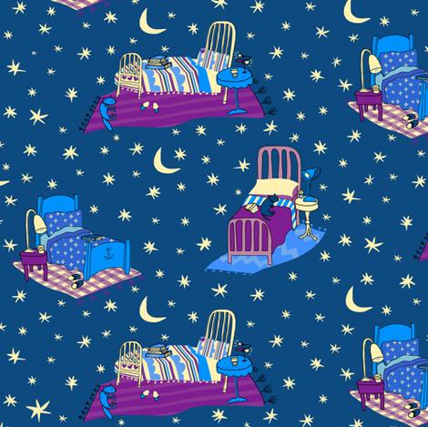 Bedtime Magic fabric by pattyryboltdesigns on Spoonflower - custom fabric