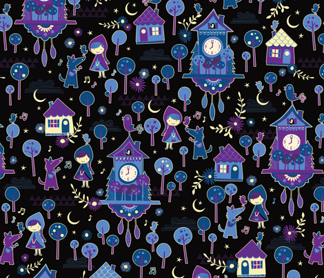 Sweet Dreams fabric by jennartdesigns on Spoonflower - custom fabric