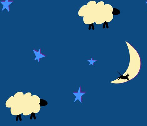 sheep_dreams fabric by chesapeaketess on Spoonflower - custom fabric