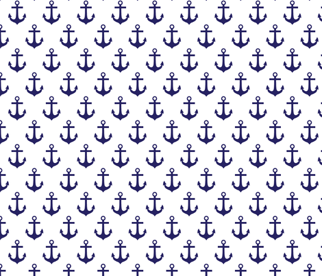 Anchors fabric by greysquaredesigns on Spoonflower - custom fabric