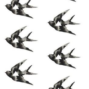 Geometric Sparrow with Triangle