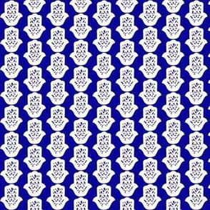 hamsa blue small