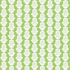 hamsa green small