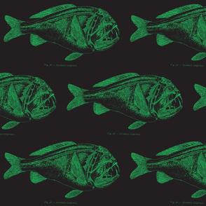 green fish blackprint