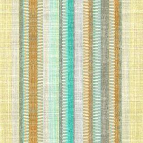 Linen Vintage Stripe