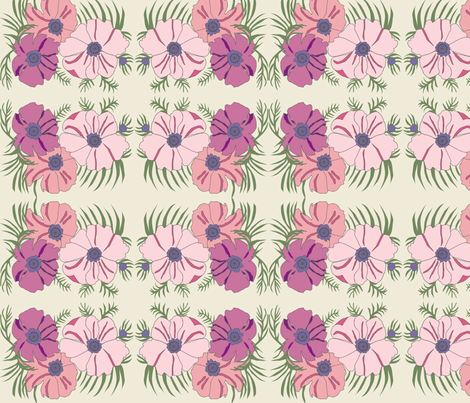 flowergrpcolour fabric by snap-dragon on Spoonflower - custom fabric