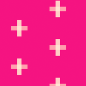 Swiss Cross Magenta