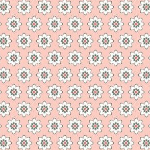 Chick-a-Doodle Small Floral: Pink