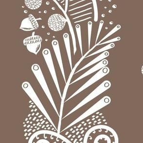 Quail Column (Cocoa)
