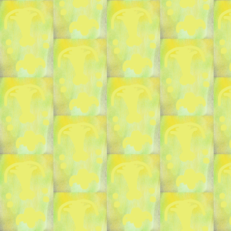 pale yellow scales fabric by lbehrendtdesigns on Spoonflower - custom fabric