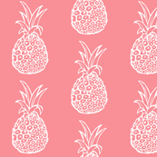 Pineapple Party // Coral Rose