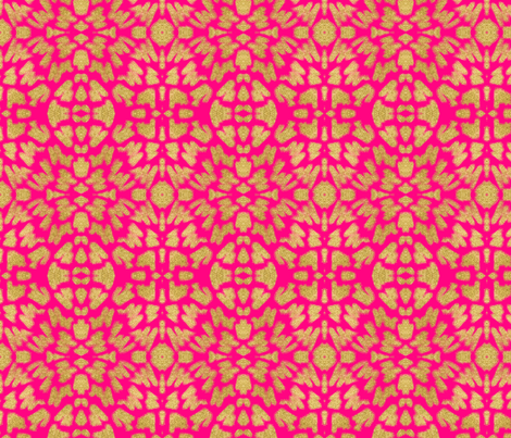 Glitter Brush Strokes + Hot Pink  fabric by theartwerks on Spoonflower - custom fabric