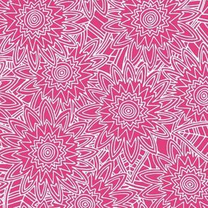 baby elephant fleur pink