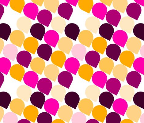 Droplets fabric by katebillingsley on Spoonflower - custom fabric