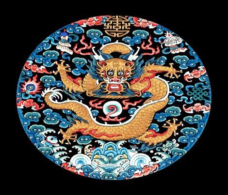 Spoonflower_contrast_4_golden_dragon_red_flames_blue_clouds_black_bg_shop_preview
