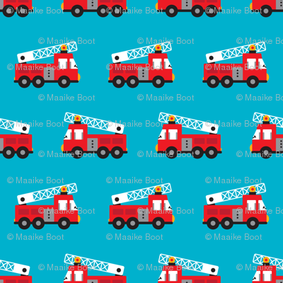 Fire to the rescue fire engine truck for boys