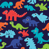 Dark night dinosaurs