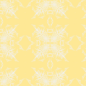Sunny yellow and Soft Gray