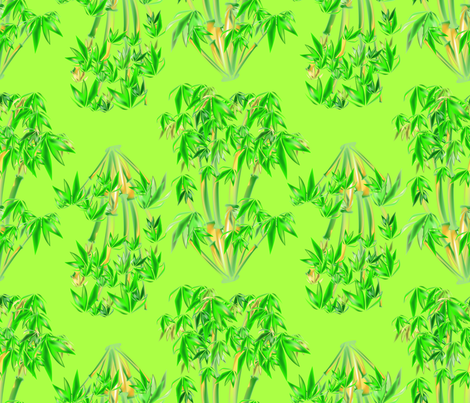 Bamboo Stalks fabric by illustrative_images on Spoonflower - custom fabric
