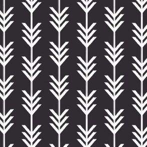 Black & White Chevron Arrows