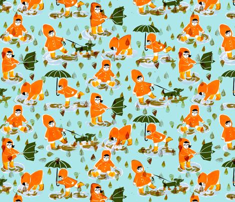 Stövlar fabric by lillen on Spoonflower - custom fabric