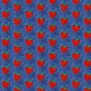 Strawberry denim