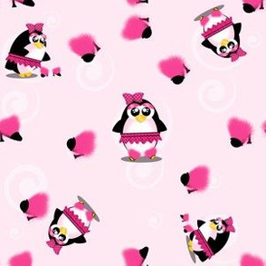 Pink Pampered Penguin