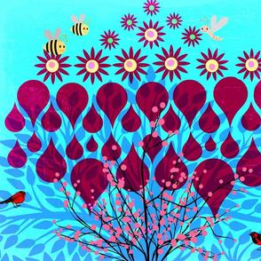 Blooming Fig Tree