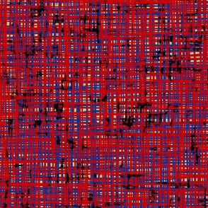 (NOW LARGER) Punk tweed 1, UK limited palette by Su_G