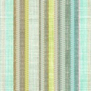 Breeze Floral Stripe Linen