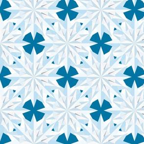 Diamond fields - blue