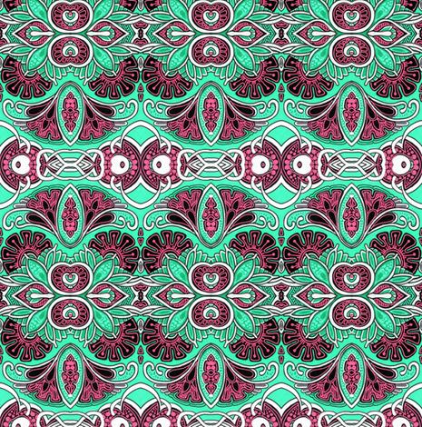 Peek a Boo Posies fabric by edsel2084 on Spoonflower - custom fabric