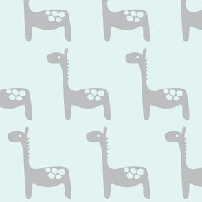 Gabriel's Giraffe - Grey