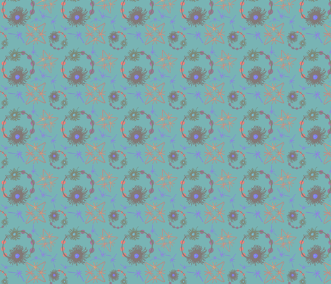 Brighter cells  fabric by vanessa_cardui on Spoonflower - custom fabric
