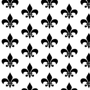 black_fleur_de_lis_on_white