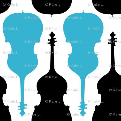 String Bass - Blue