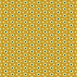 Aqua and Gold Dainties #9