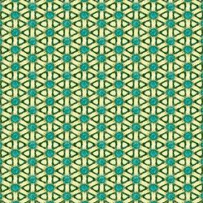 Aqua and Gold Dainties #8
