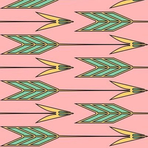 Paper & Feather Arrows