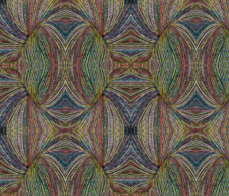 Variegated Yarn fabric by mammajamma on Spoonflower - custom fabric