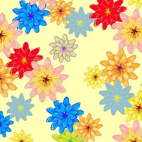 Fantasy floral lemon