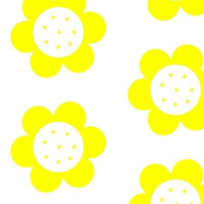 Mod Flower Power Yellow